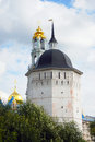 Trinity sergius lavra tower and bell tower sergiev posad russia unesco world heritage site Royalty Free Stock Photos