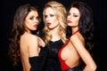 Trio Of Stunning Glamorous Women