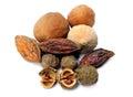 Triphala-ayurvedic fruits Royalty Free Stock Photo