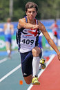 Triple jump men britain williams Royalty Free Stock Images