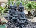 Triple Spirituality Royalty Free Stock Photo