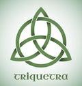 Triquetra Symbol With Gradients