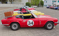 TRIUMPH Spitfire MK IV from 1973 Royalty Free Stock Photos