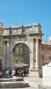 Triumphal arch of sergius pula croatia sergievtsev Stock Photos