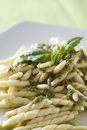 Trofie al pesto Royalty Free Stock Photography