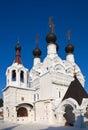Troitskaya church  at Murom Royalty Free Stock Photo
