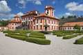 Troja castle Royalty Free Stock Photo