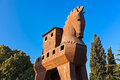Trojan Horse - Troy Turkey Stock Image