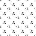 Trolley pattern, simple style