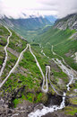 Trollstigen Royalty Free Stock Photos
