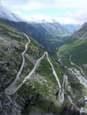 Trollstigen Royalty Free Stock Images