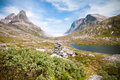 Trollstigen (Troll's road) Norway Royalty Free Stock Image