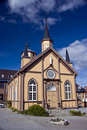Tromso church Royalty Free Stock Photo