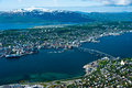 Tromso city Royalty Free Stock Photo