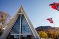 Tromso city Royalty Free Stock Photo