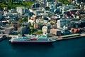 Tromso city in Norway