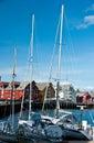 Tromso harbour, Norway Royalty Free Stock Photo
