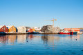 Tromso waterfront Royalty Free Stock Photo