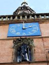 Tron theatre clock glasgow scotland united kingdom Stock Photography