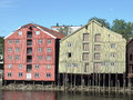 Trondheim the city of in norway Stock Photography