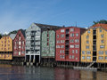 Trondheim the city of in norway Stock Photo