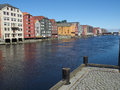 Trondheim the city of in norway Stock Photos