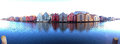 Trondheim norway generic architecture panorama Royalty Free Stock Photography