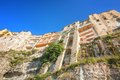 Tropea famous cliff in calabria italy Stock Photography