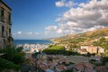 Tropea view of the beautiful city of in southern italy Royalty Free Stock Image