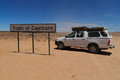 Tropic of capricorn Royalty Free Stock Photo