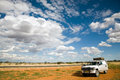 Tropic of capricorn x at the in namibia africa Stock Image