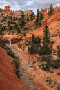 Tropic Ditch Waterfall Bryce Canyon National Park Stock Images
