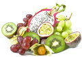 Tropic fruits Stock Photos