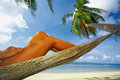 Tropic relaxation Royalty Free Stock Photography
