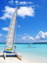 Tropic sailing Stock Image