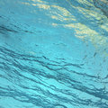 Tropic waters beneath the waves Stock Photography