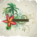 Tropical abstract background Royalty Free Stock Photography