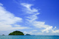 Tropical beach, Andaman Sea,Thailand Stock Photography