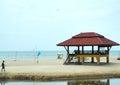 Tropical beach koh samui thailand in Stock Image
