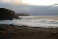 Tropical beach la pared near costa calma at fuerteventura canary island spain beautiful on paradise Stock Photography