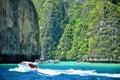 Tropical beach, Maya Bay Royalty Free Stock Photo