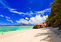 Tropical beach nature vacation background Royalty Free Stock Images