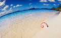Tropical beach philippines south china see el nido fisheye shot Stock Photo