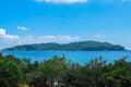 Tropical beach scenery, Andaman sea Royalty Free Stock Photo