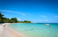 Tropical beach and sea nature scene in koh samed island thailand Royalty Free Stock Photos