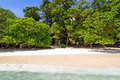 Tropical beach of Similan Islands Stock Image
