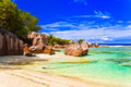 Tropical beach vacation nature background Stock Images