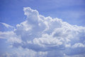 Tropical clouds in Florida Royalty Free Stock Photo