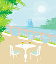 Tropical drink bar Royalty Free Stock Photo