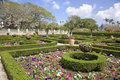 Tropical Formal Gardens Stock Image